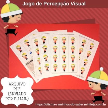 Jogo de Percepção Visual (Arquivo Digital)