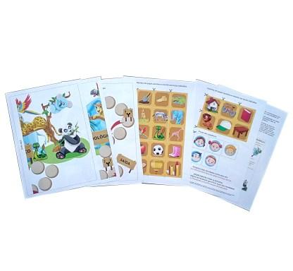 exemplo de jogo do kit de dislexia