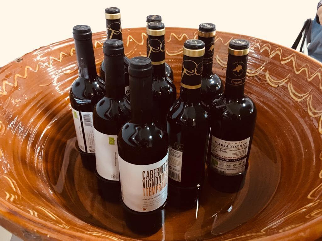 Cata de Vinos de Rutas del Vino de La Mancha. Chicho Avendaño.