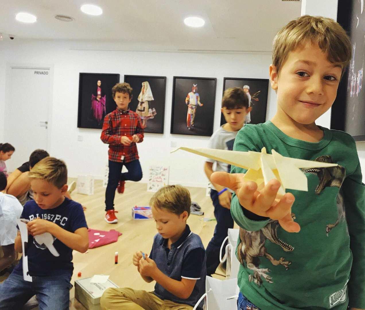 Taller de papiroflexia con Javier Caboblanco