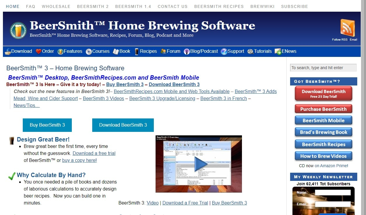 beersmith home page