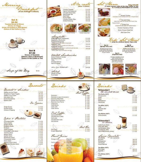 Ideas to make a restaurant menu design and restaurant