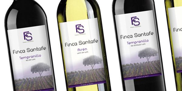 Diseño de etiquetas de vino Español para exportación en Europa