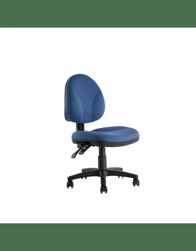 Silla secretarial de alto trafico sin brazos modelo BM 550