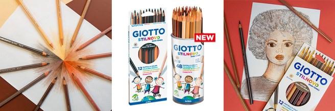 Lápices de colores Giotto Skin Tones