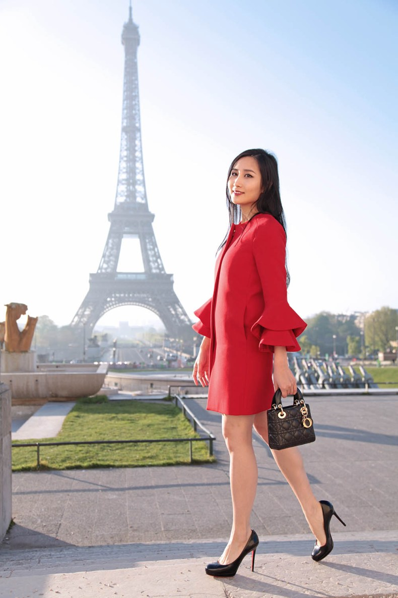 The Best Spots to Take Photos with the Eiffel Tower | Of Leather and Lace - Fashion Blog by Tina Lee