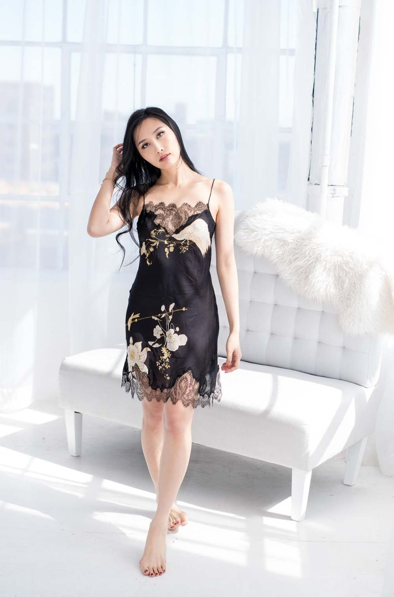 Brand Crush: Carine Gilson - Couture Lingerie & Silk Robes | Of Leather and Lace | A Fashion Blog by Tina Lee