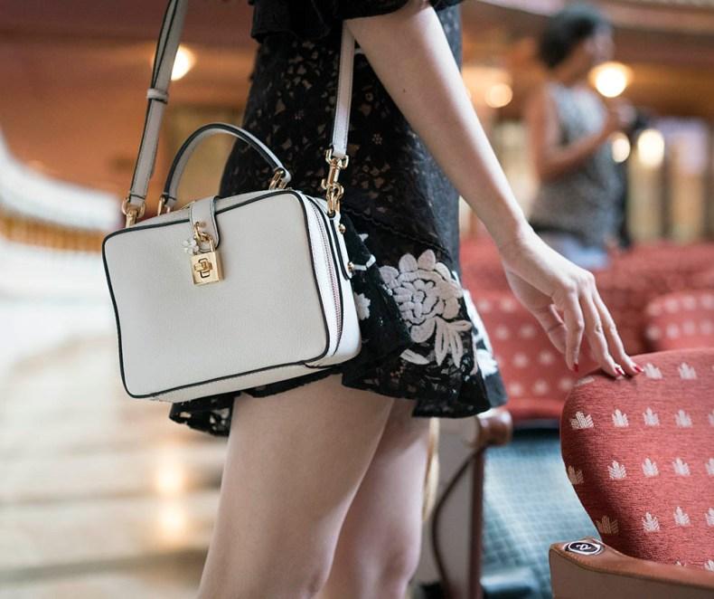 Dolce & Gabbana Bag | Palau de la Musica Catalana | Of Leather and Lace