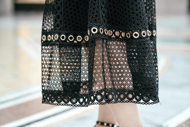 Maje Skirt Details | Of Leather and Lace