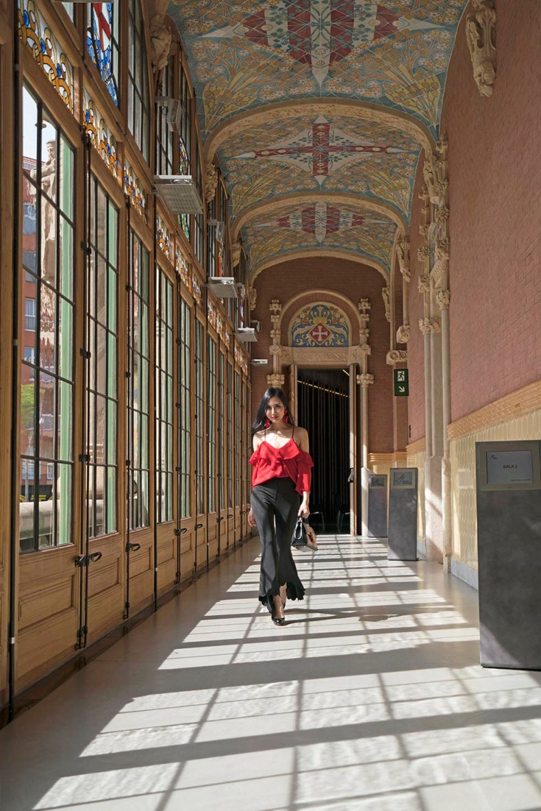 The Must Visit Hidden Gem of Barcelona - Hospital Sant Pau | Of Leather and Lace