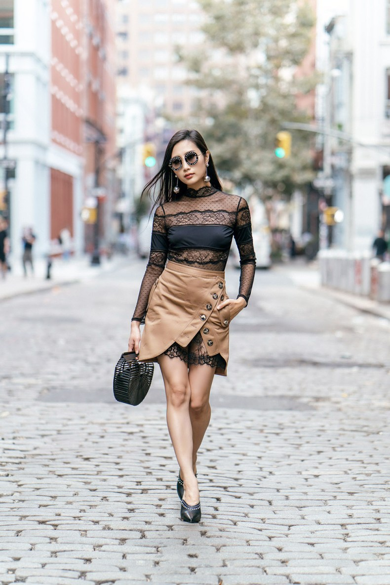 How To Wear Mules This Fall | Of Leather and Lace - Fashion Blog by Tina Lee