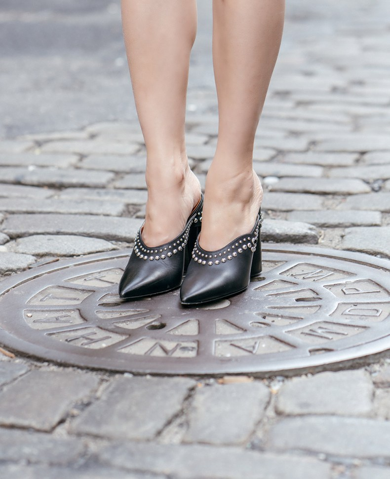 3.1 Phillip Lim Studded Mules   Of Leather and Lace   A Fashion & Travel Blog by Tina Lee