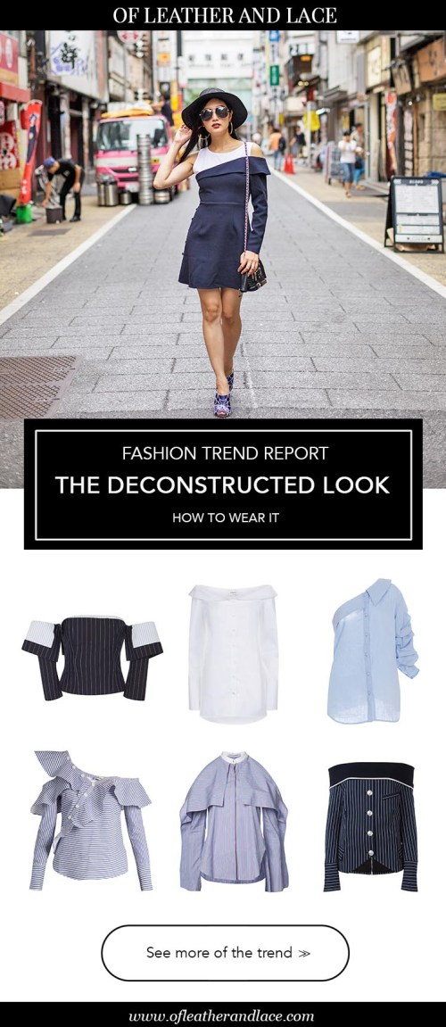 Fashion Trend Report: The Deconstructed Look in Tokyo, Japan