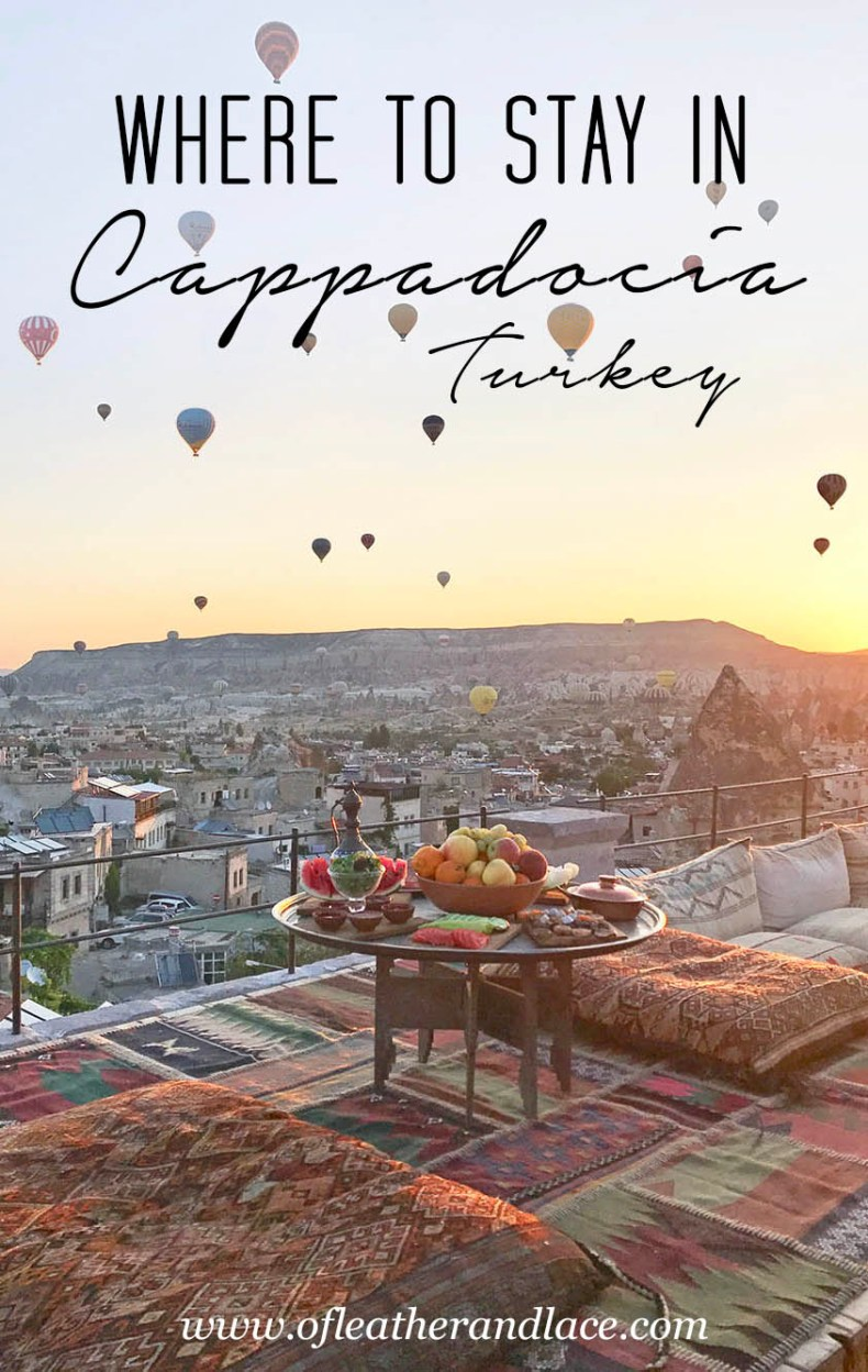 Tina Travels: Where To Stay in Cappadocia, Turkey - Sultan Cave Suites and Hot Air Balloons | Of Leather and Lace