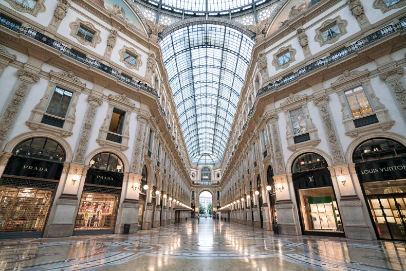 Milan Galleria Vittorio Emanuele II | Of Leather and Lace - A Fashion & Travel Blog By Tina Lee