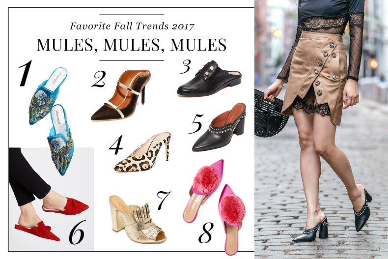 Pre-Black Friday Fashion Sales of 2017 | Of Leather and Lace - A Fashion Blog by Tina Lee | Mule Outfits, Mule shoes, Mule heels