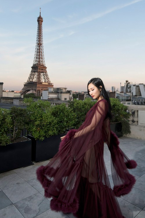 Luxurious Dressing Gowns Fit For A Burlesque Star   in Paris   Of Leather and Lace