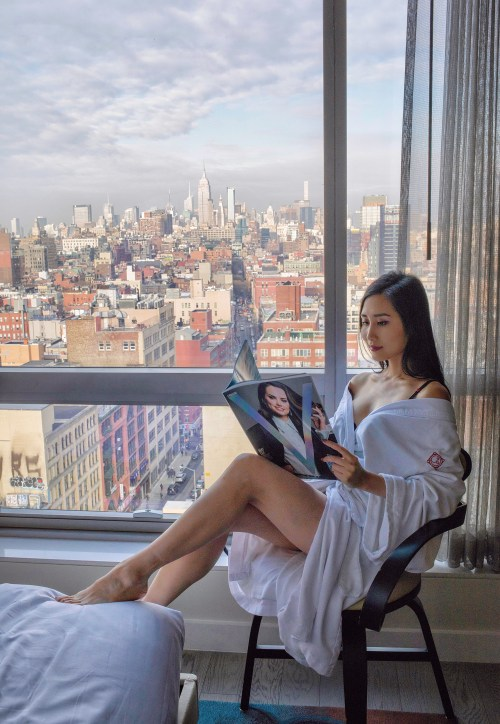 My NYC Staycation With a Beautiful View at 50 Bowery Hotel in Chinatown | OF Leather and Lace | Fashion Blog by Tina Lee