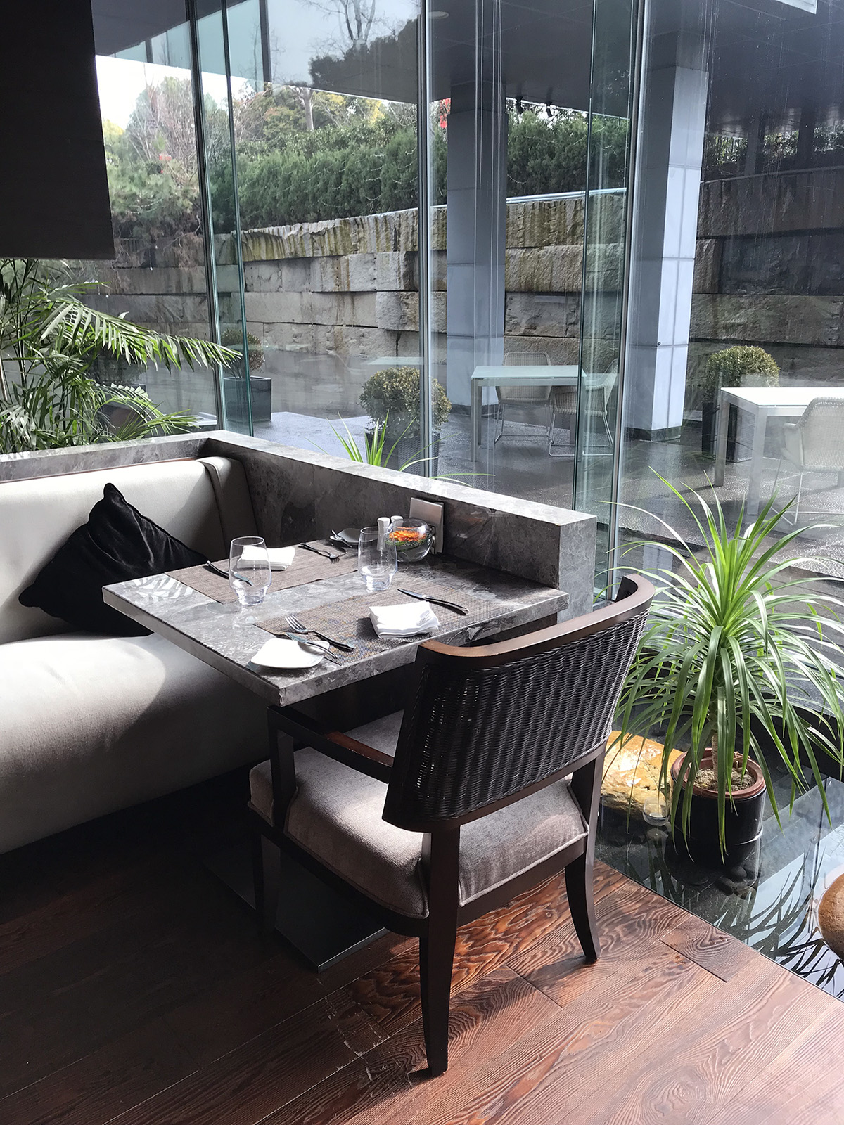 Banyan Tree Shanghai on the Bund - Hotel Room with a Pool and a View   Of Leather and Lace - Fashion & Travel Blog by Tina Lee   hotel review, shanghai city, restaurant