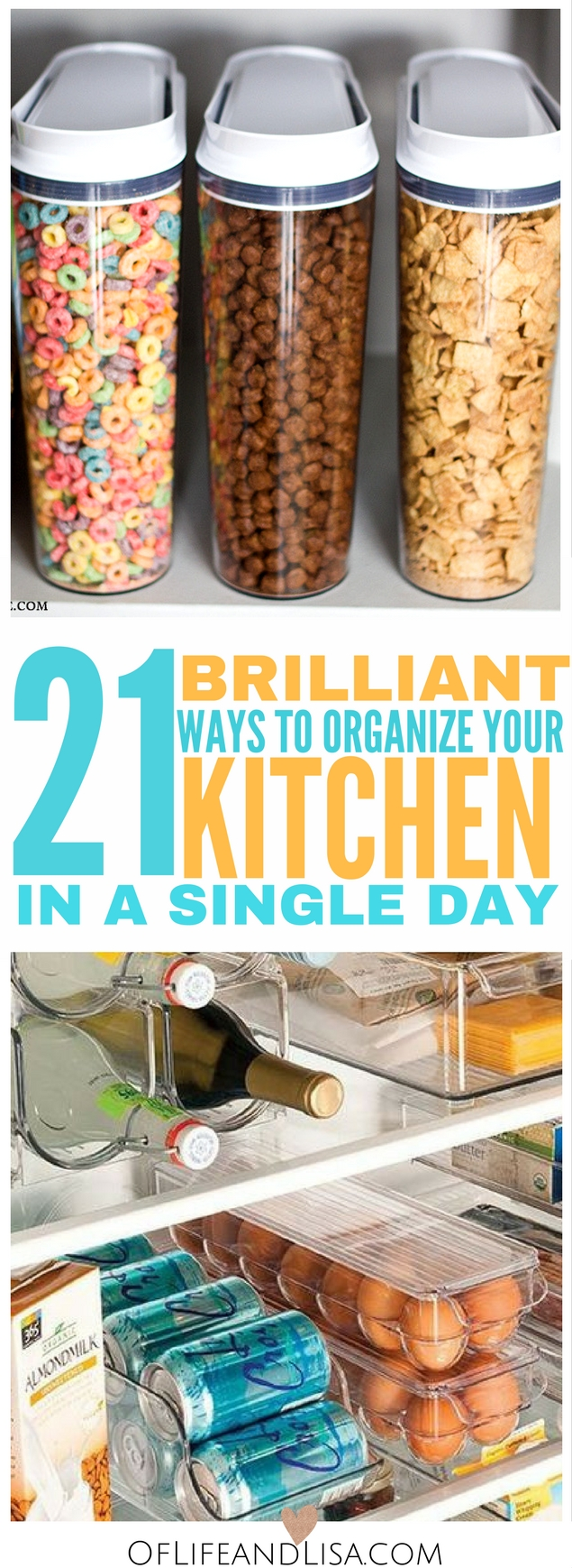 How To Organize Your Kitchen 21: 21 Brilliant DIY Kitchen Organization Ideas