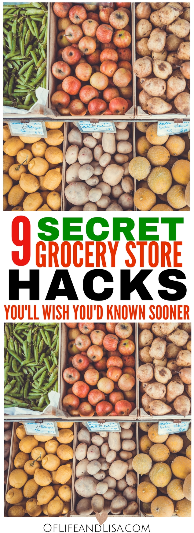Looking for ways to save money at the grocery store? Check out this list of 9 grocery store hacks that will change how you shop forever.