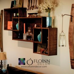 Sturdy Kitchen Chairs Best Material For Sink Wine Barrel Stave Sconce With Hook - O'floinn Decor