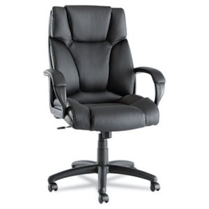 Alera Fraze Series High-Back Swivel/Tilt Black Office Chair