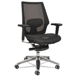 Alera K8 Series Ergonomic Multifunction Black Mesh Chair