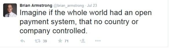brian armstrong coinbase