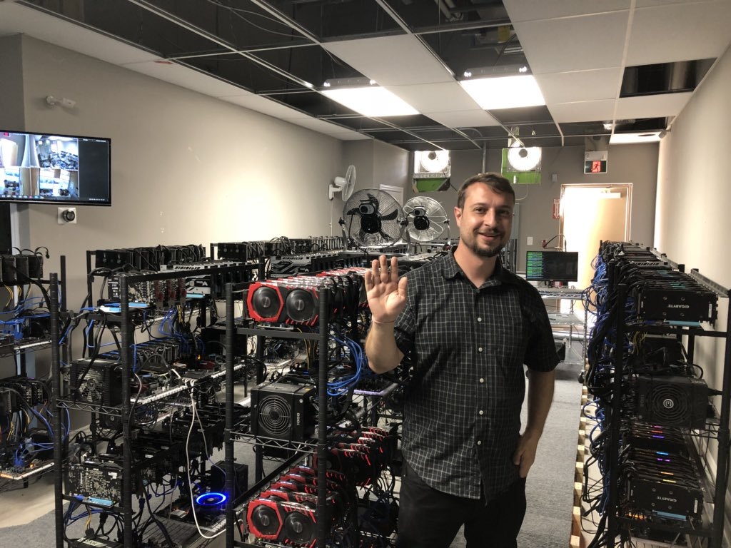 A now-deleted image of a Monero mining farm in Toronto (source) 46b53a27b13