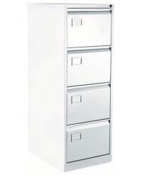 Bisley 4 Drawer Filing Cabinet - OFPDirect