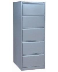 Bisley 5 Drawer lockable Flush Fronted Filing Cabinet ...