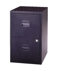 Bisley A4 2 Drawer Lockable Personal Filing Cabinet ...