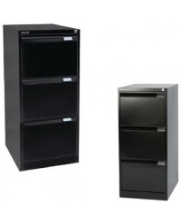 Bisley Three-Drawer Filing Cabinet - OFPDirect