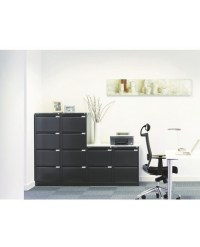 Bisley Two-Drawer Filing Cabinet - OFPDirect