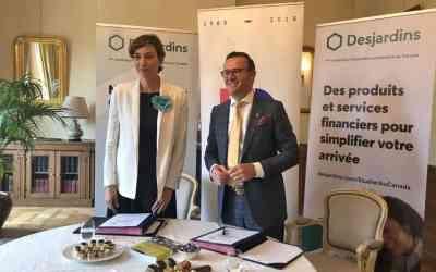 L'Office franco-québécois et le Mouvement Desjardins, partenaires de la mobilité internationale des jeunes