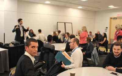 20 jeunes français et québécois participent à l'atelier « jeunesse » du Congrès commun des associations France-Québec et Québec-France