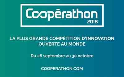 Participez à la plus grande compétition d'innovation à impact social au monde ! Vivez le Coopérathon 2018 !