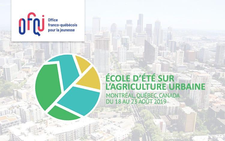 École d'été d'agriculture urbaine de Montréal 2019
