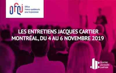 Jeunes entrepreneurs et professionnels de la Région Auvergne – Rhône-Alpes, participez aux 32e Entretiens Jacques Cartier
