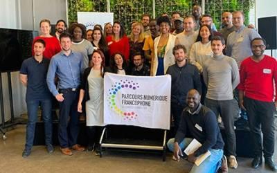 La délégation française du Parcours Numérique Francophone à la Semaine NumeriQC c'est parti !