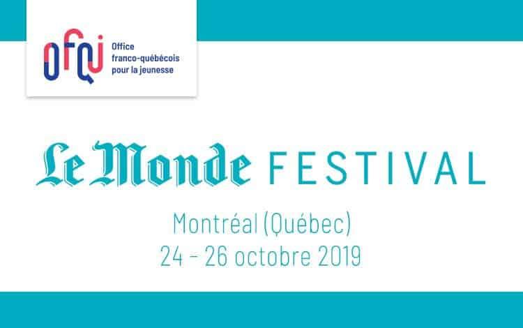 Le Monde Festival Montréal 2019