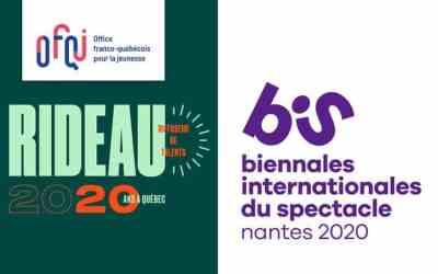 BIS de Nantes et Bourse RIDEAU 2020