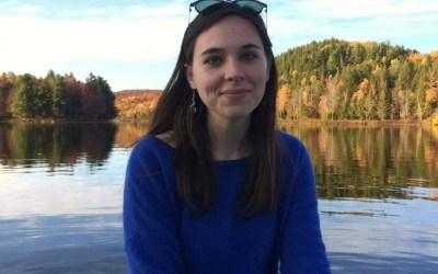 Portrait – Clara DLC. et la défense des baleines du Saint Laurent