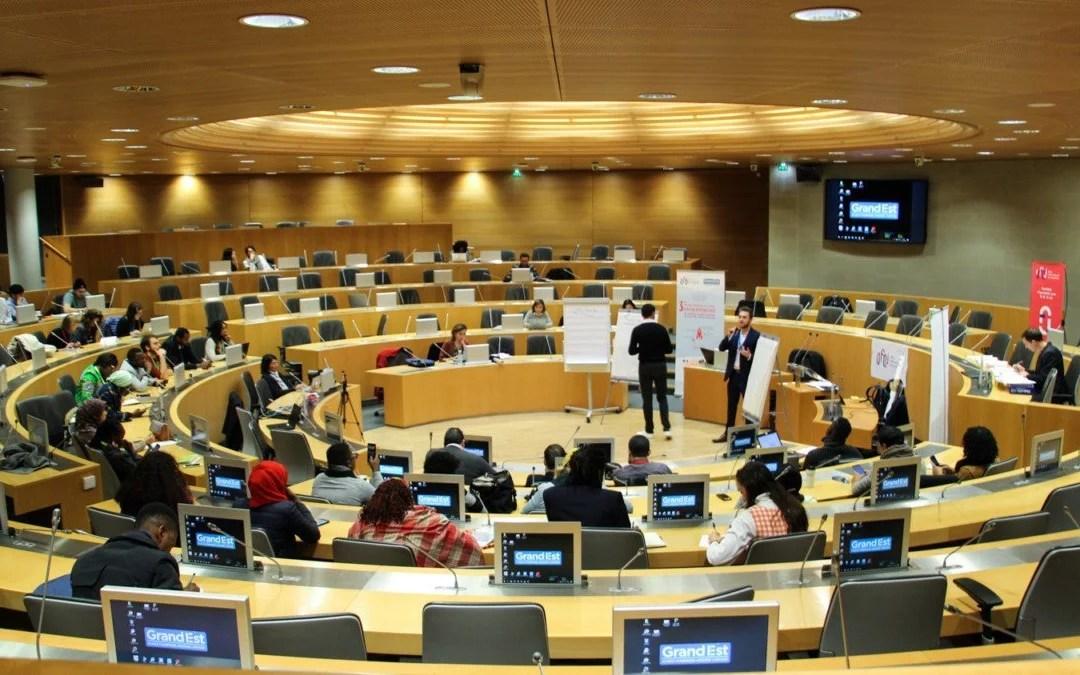 200 entrepreneurs engagés pour développement de la francophonie économique avec l'OFQJ et la Région Grand Est
