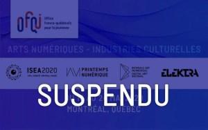 ISEA 2020 - Suspendu