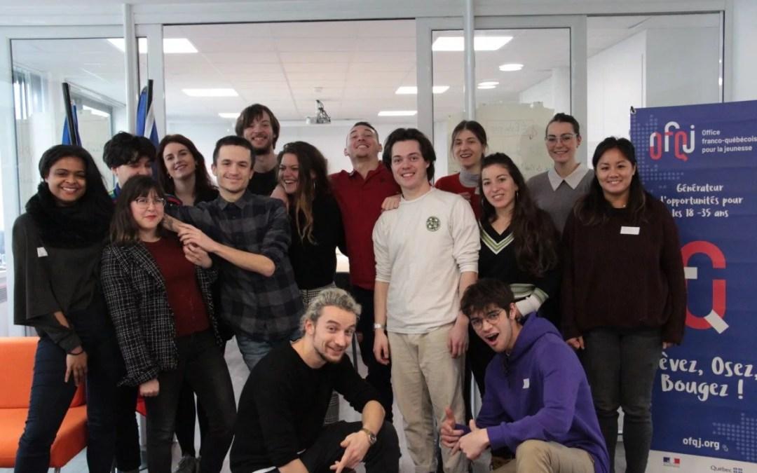 Notre première promotion de volontaires en Service civique de 2020 est prête à s'envoler outre-Atlantique !