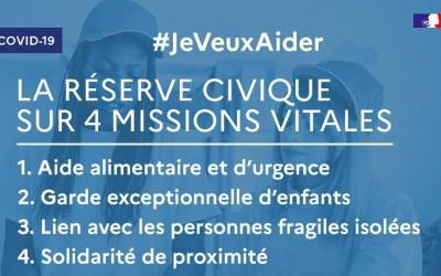 jeveuxaider.gouv.fr : le Gouvernement appelle à la mobilisation générale des solidarités