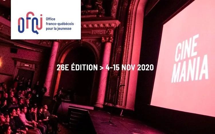Cinémania – Délégation jeunesse francophone 2020