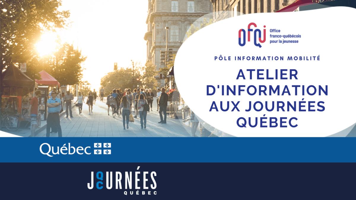 Journées Québec 2020